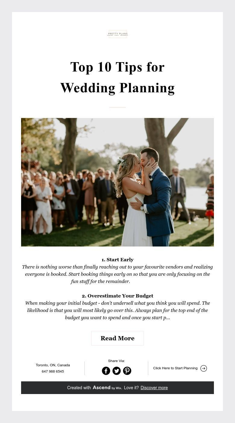 Top 10 Tips For Wedding Planning In 2020 Wedding Planning How To Plan Wedding Advice