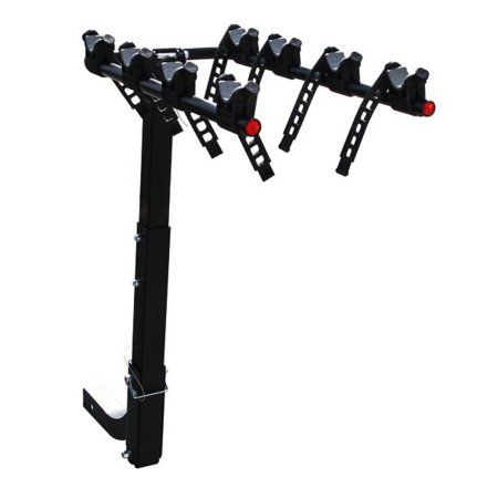 Critical Cycles Lenox Hitch Mount Bike Rack with 2 Inch Receiver 3 Bike