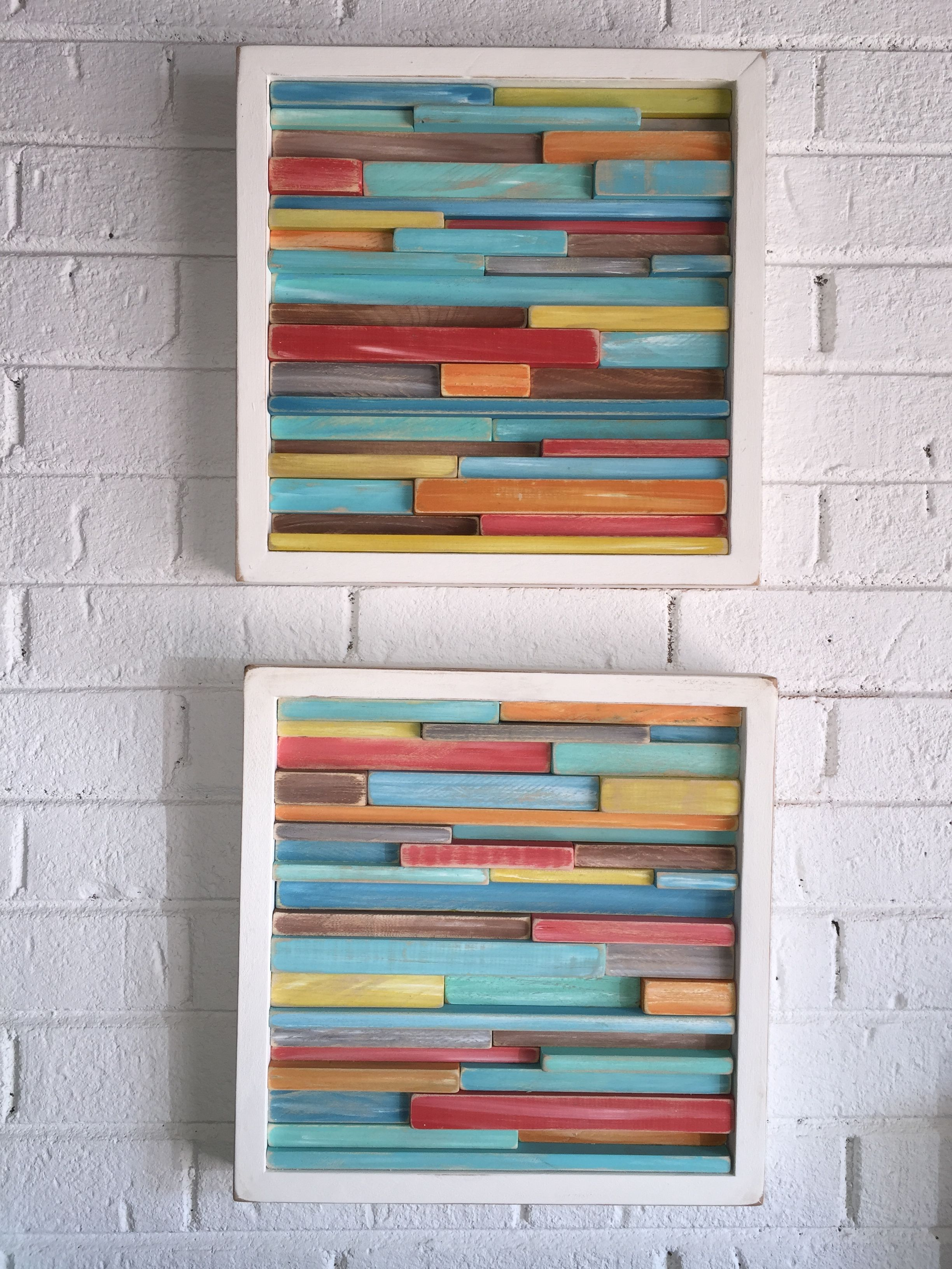 Distressed abstract wood wall art tropical modern also rh pinterest