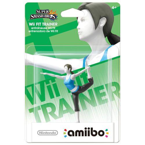 amiibo Super Smash Bros Wii Fit Trainer