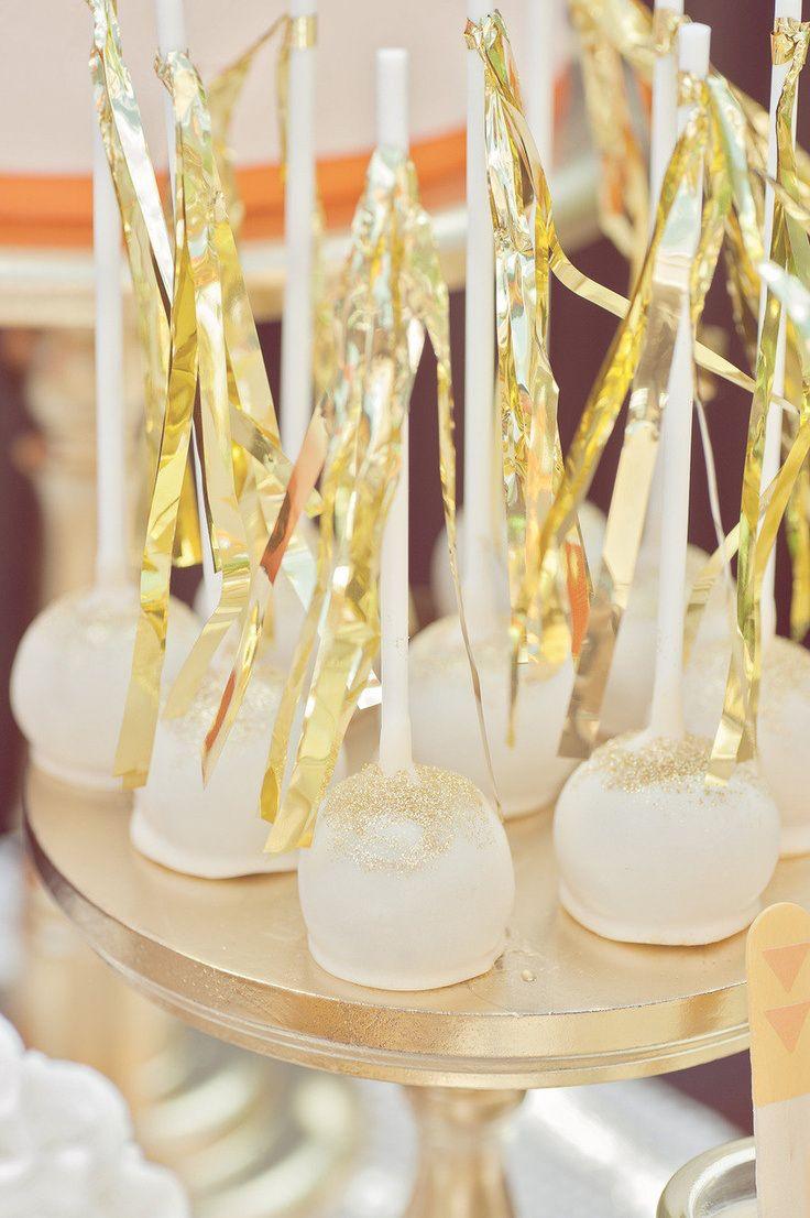 Вдохновение цветом: блестки золота - Weddywood