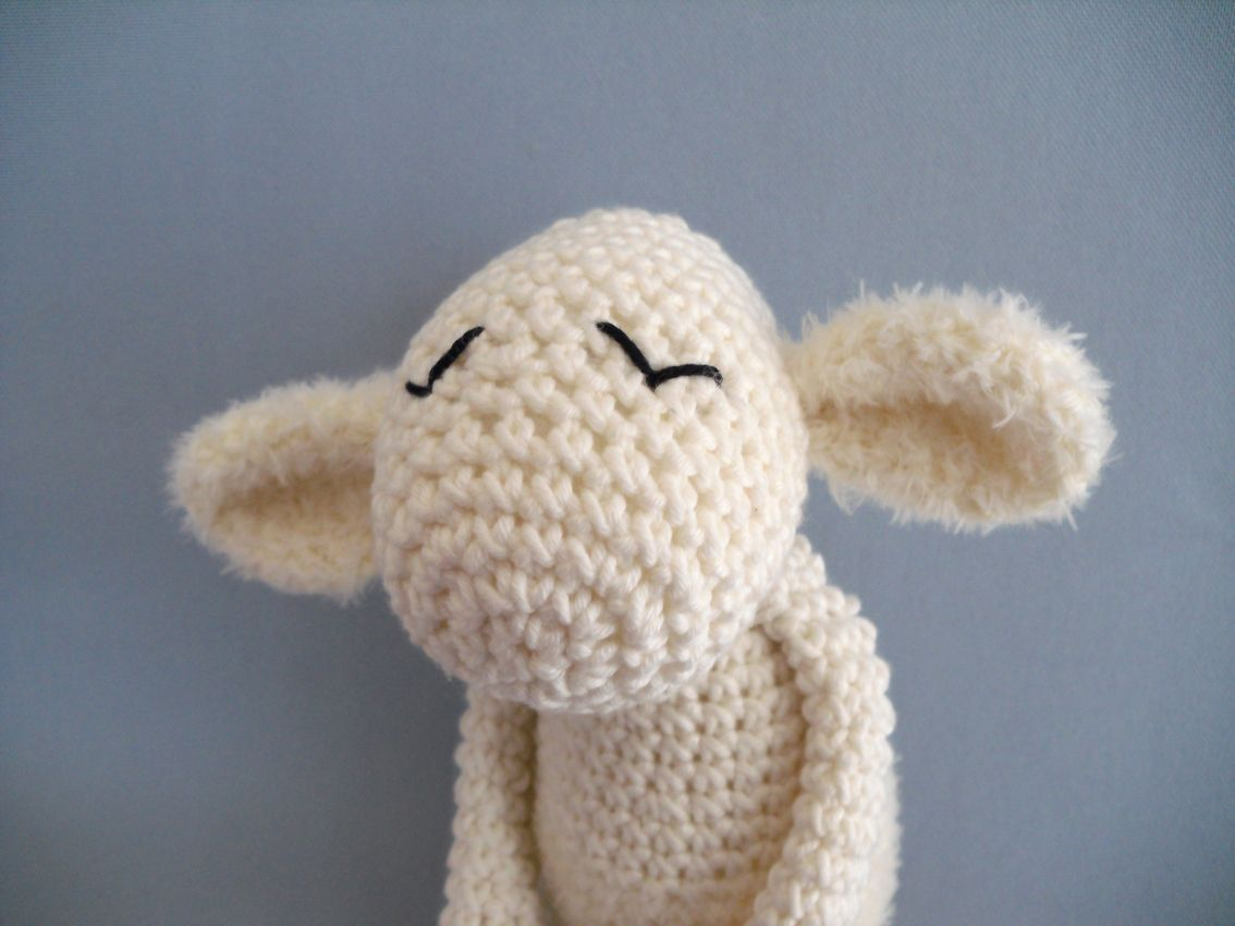 unschuldslamm | crocheted and stuffed | Pinterest | Häkeltiere ...