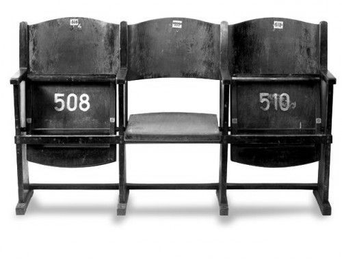 old movie theater seats or stadium seats dream home features