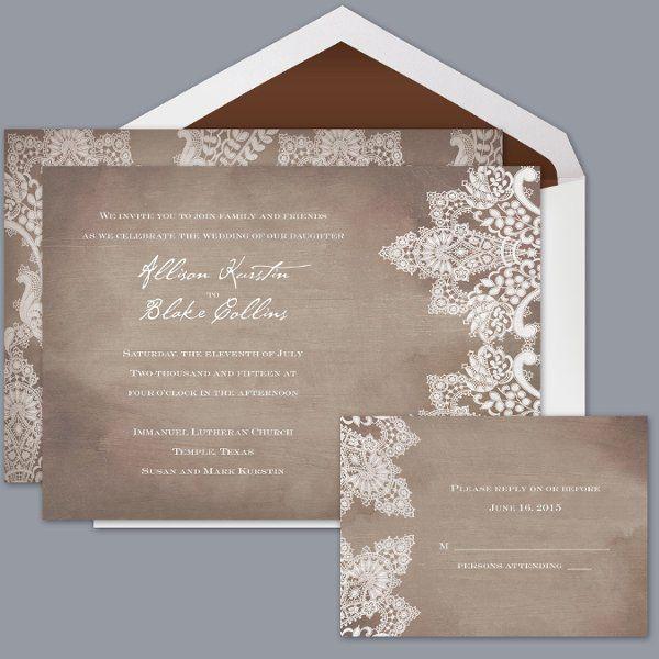 Davids Bridal Wedding Invitations Weddings Wedding and Debut ideas