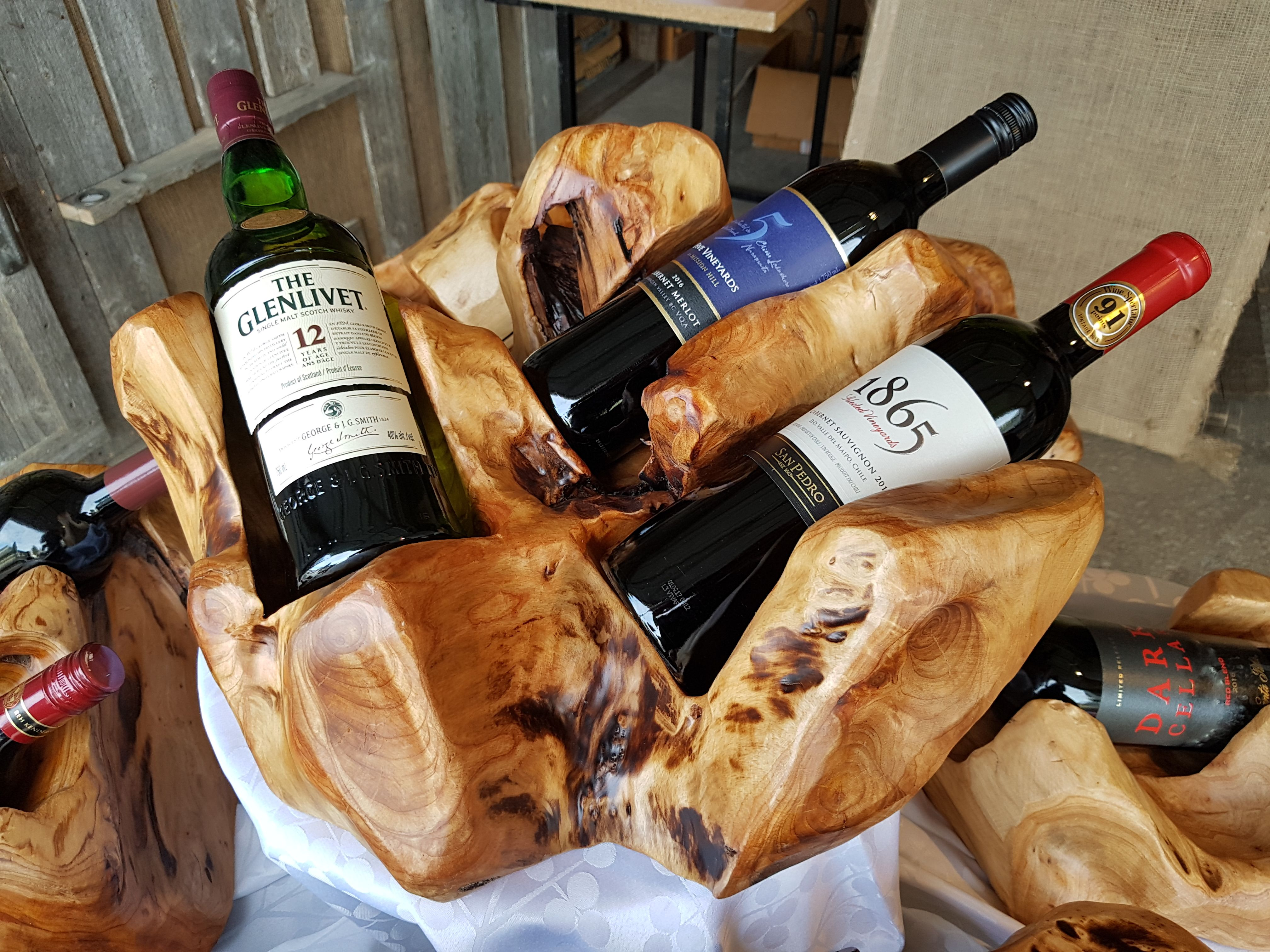 Image result for Wine Bottle Holder for His Collection IMAGES