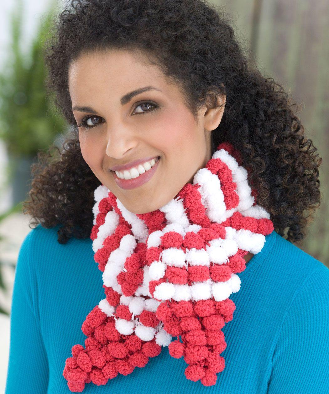 Candy Stripe Scarf Knitting Pattern
