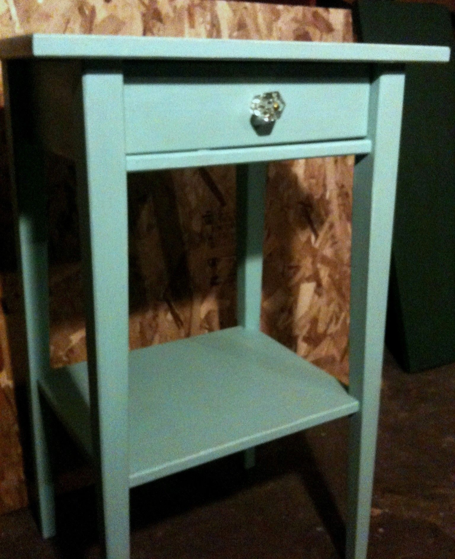 Ikea Expedit Chalk Paint Ikea Hack Painted Nightstand Annie Sloan Chalk Paint Bedroom
