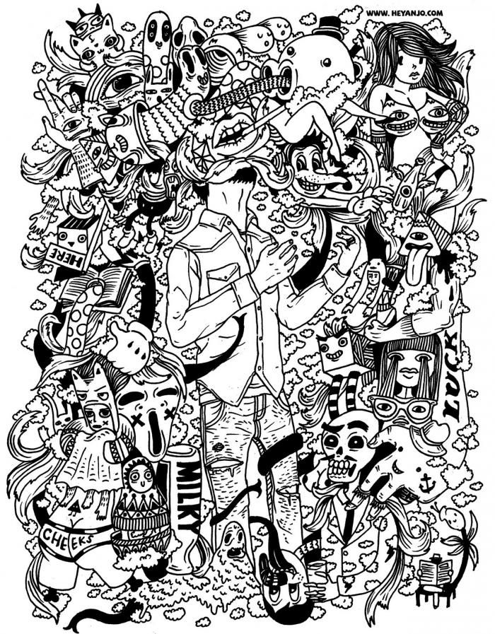 Anjo Bolarda Communication art, Line art, Graphic