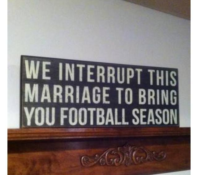 Actually not that into football, so don't worry.