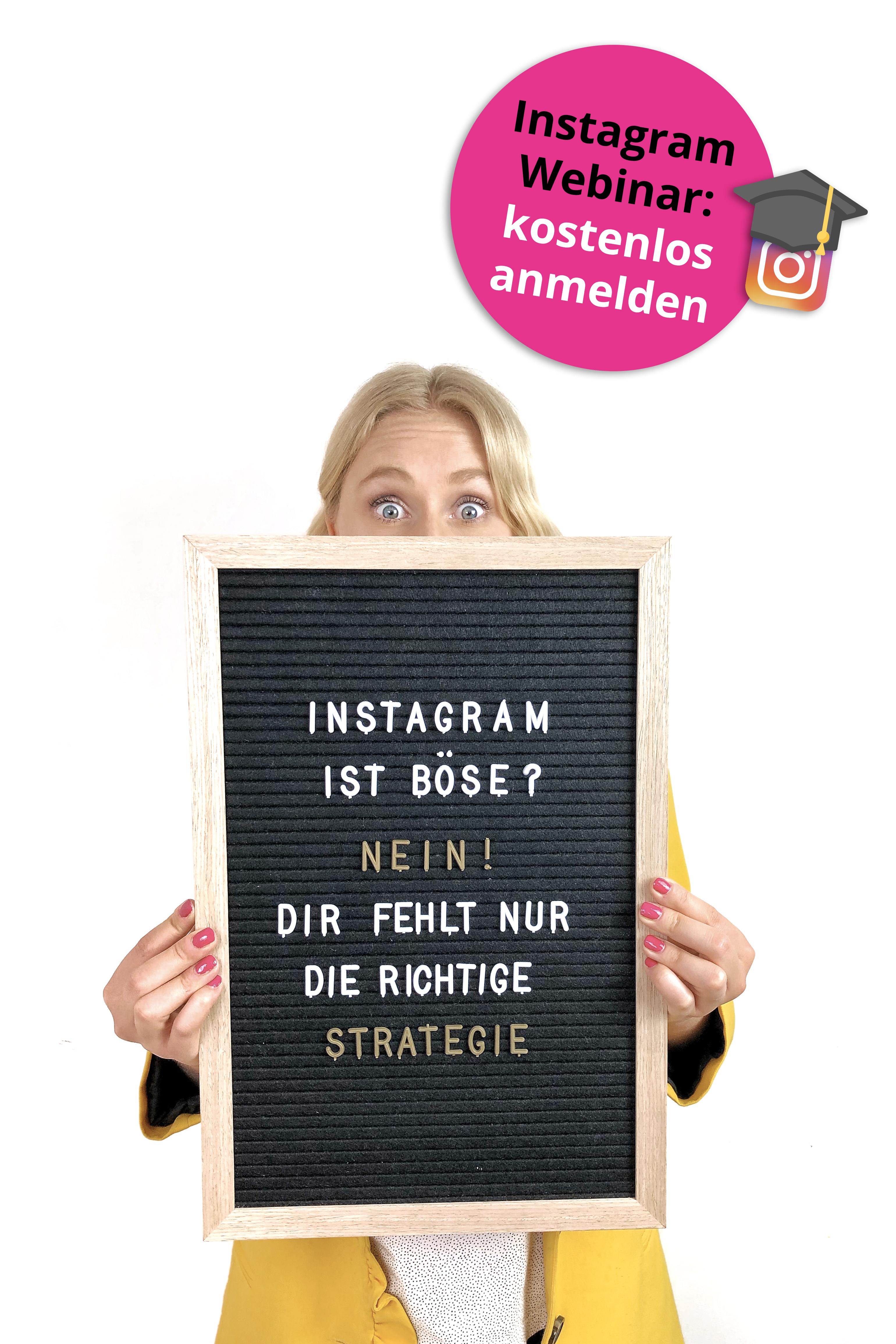 Jetzt zum Webinar anmelden   Instagram tipps, Erfolgreich bloggen ...