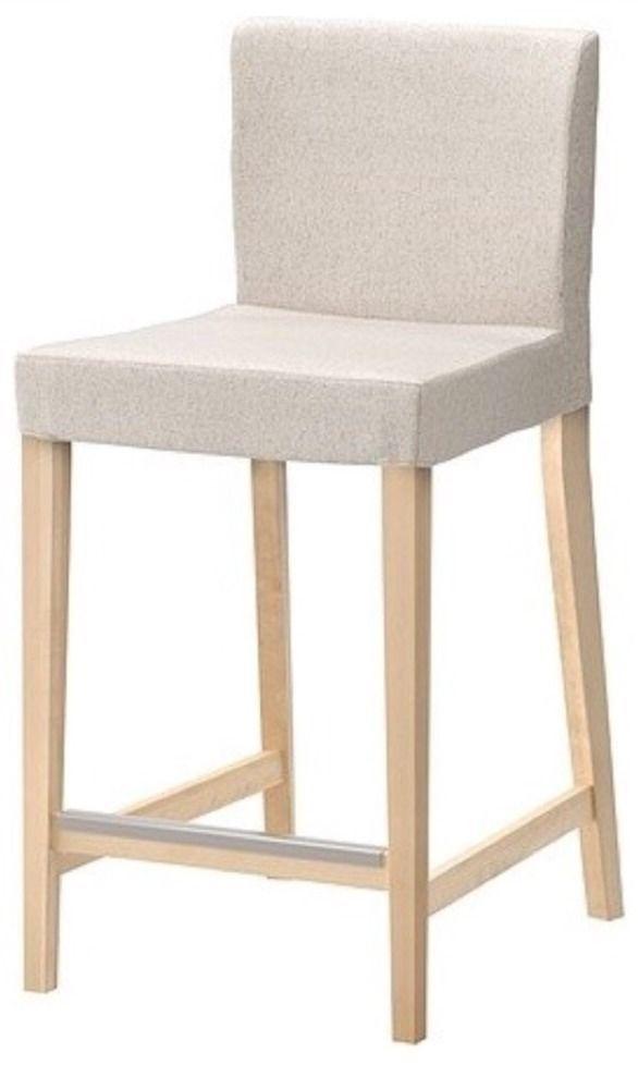Enjoyable Ikea Henriksdal Bar Stool Cover Chair Slipcover Backrest Cjindustries Chair Design For Home Cjindustriesco