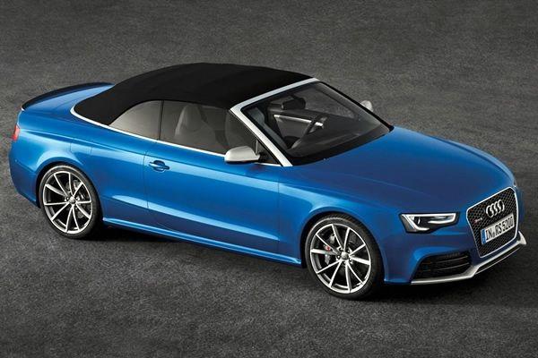 Audi RS5 Cabriolet 2013 se presenta