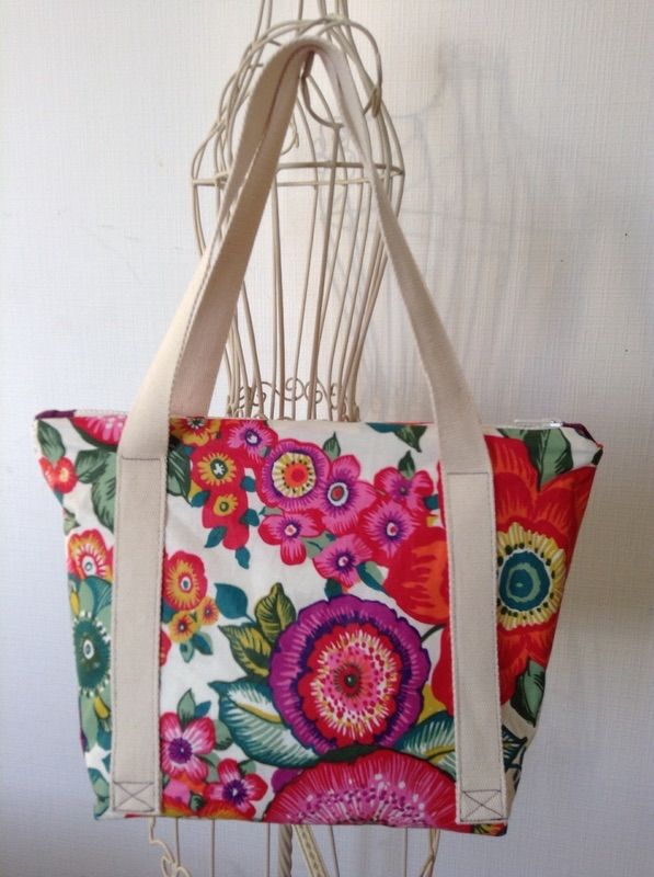 Lunch bag sac pique nique isotherme tuto couture pinterest lunch - Sac isotherme lunch box ...