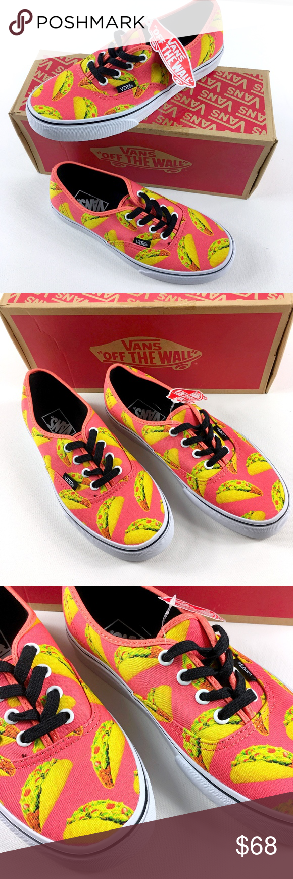 5766021a74 Spotted while shopping on Poshmark  Vans Authentic Late Night Coral Taco  RARE!  poshmark  fashion  shopping  style  Vans  Shoes
