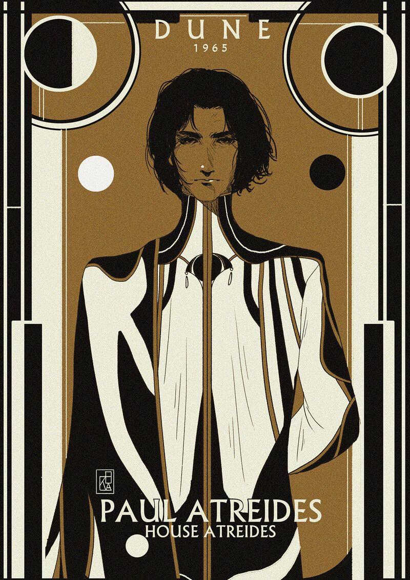 ArtStation - Dune Character Illustration Series ; Paul Atreides, Muad'Dib., Chezka Sunit