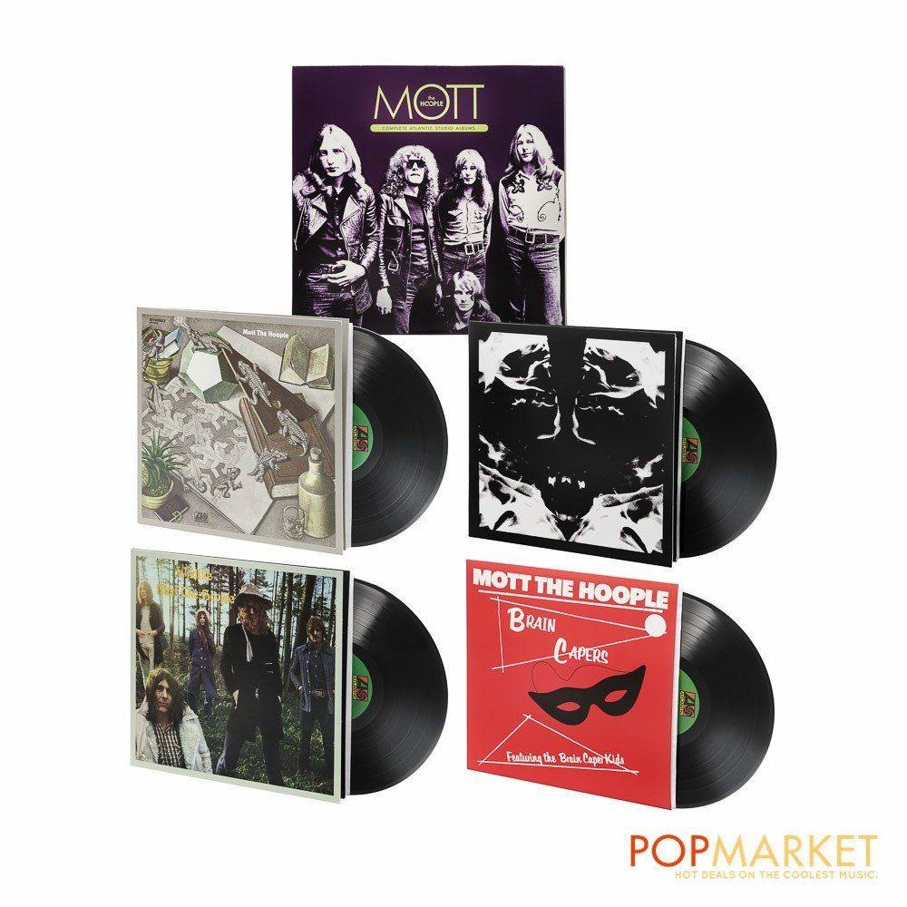 Mott The Hoople Complete Atlantic Studio Albums Vinyl Lp Box Set