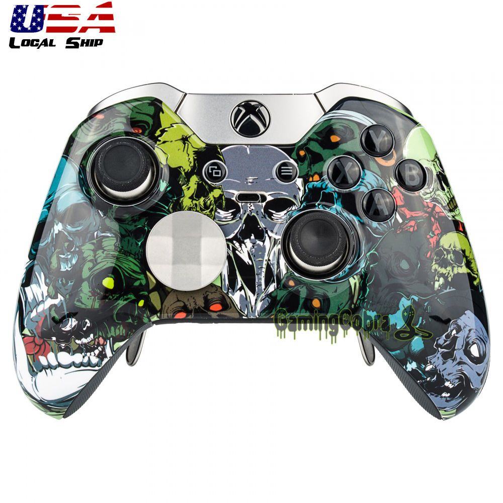12.99 Custom Skull Front Shell Faceplate Replacement