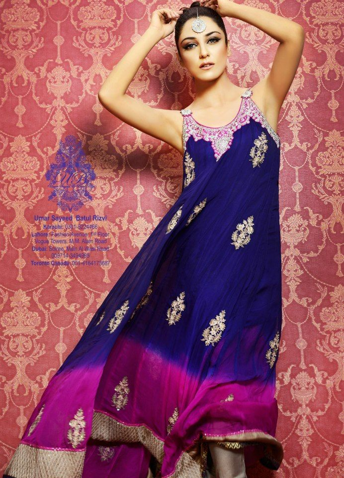 Pakistani dress | Pakistani Outfits | Pinterest | Bella, Personas y Ropa