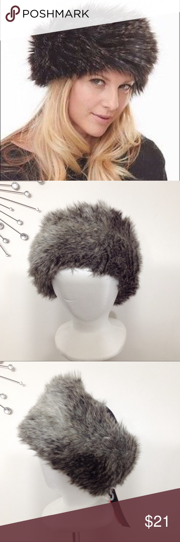 56f6561b7c3eda Parkhurst Faux Fur Hat Perfect for everyday wear on winter days, this Parkhurst  hat has