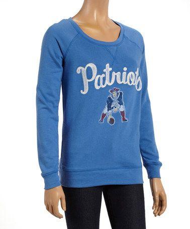 e91d580668b7 New England Patriots Fleece Sweatshirt - Women by Junk Food  zulily   zulilyfinds