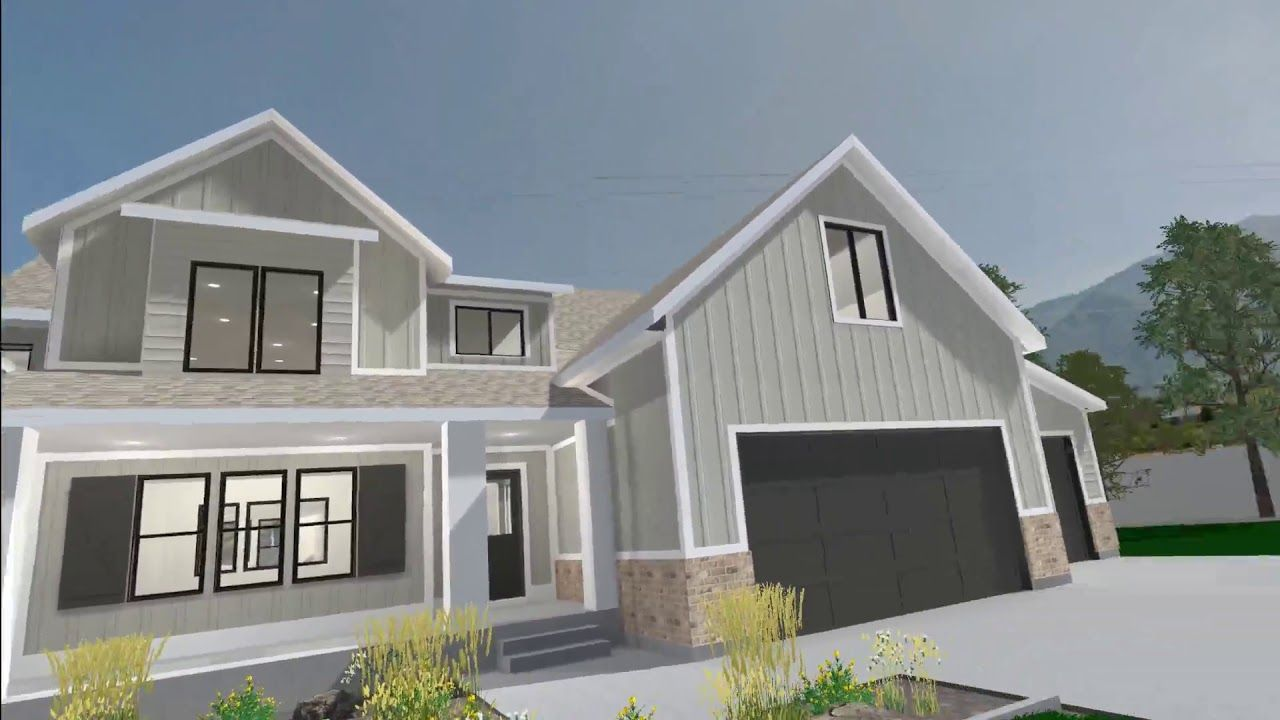 Amazing Dawson Exterior Virtual Reality Rendering  From New View Design LLC