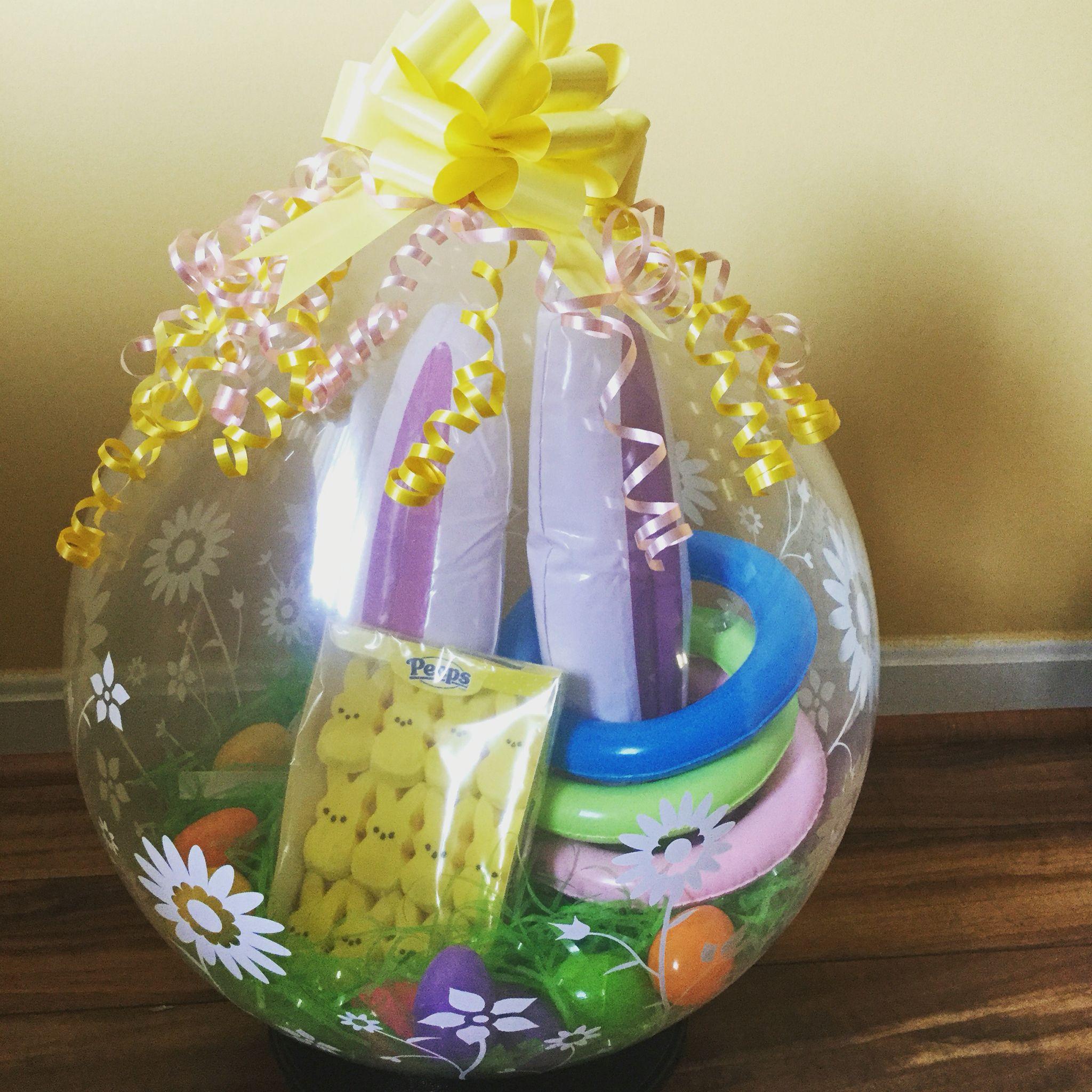 Easter Basket Balloon Balloons Balloon Basket