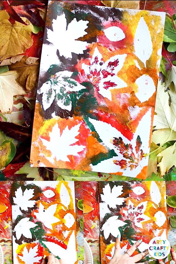 Autumn Leaf Painting - Art & Illustration -   - #Art #ArtsAndCraft #autumn #Illustration #Leaf #painting