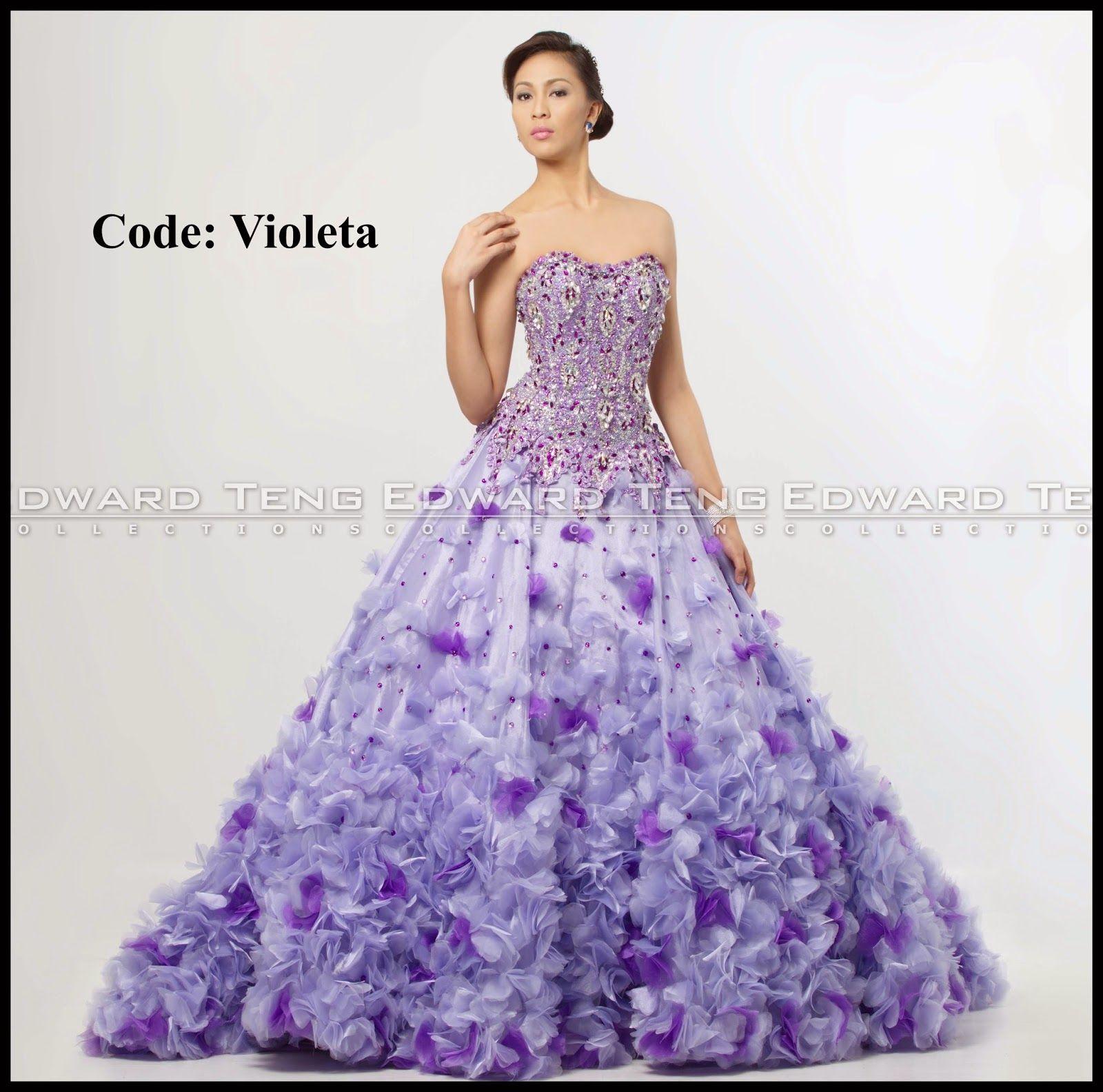 edward teng gown | philippines wedding gown designer | Pinterest