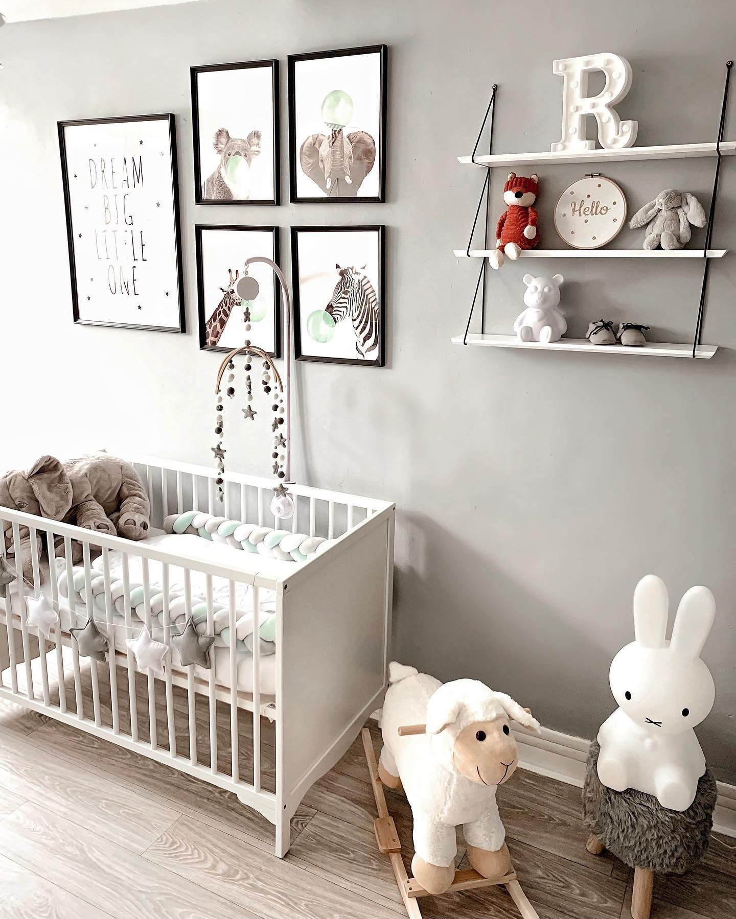Gray Gender Neutral Nursery Gender Neutral Baby Room Baby Room Neutral Baby Room Decor