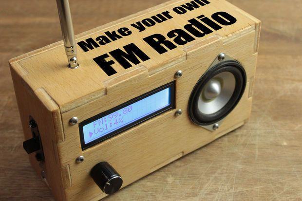 Make Your Own FM Radio   Radios, Arduino and Tech