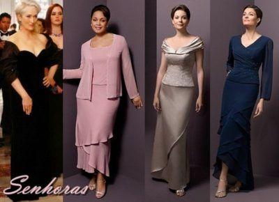 a7b537c32c vestidos de festa para senhoras de 50 anos modelos
