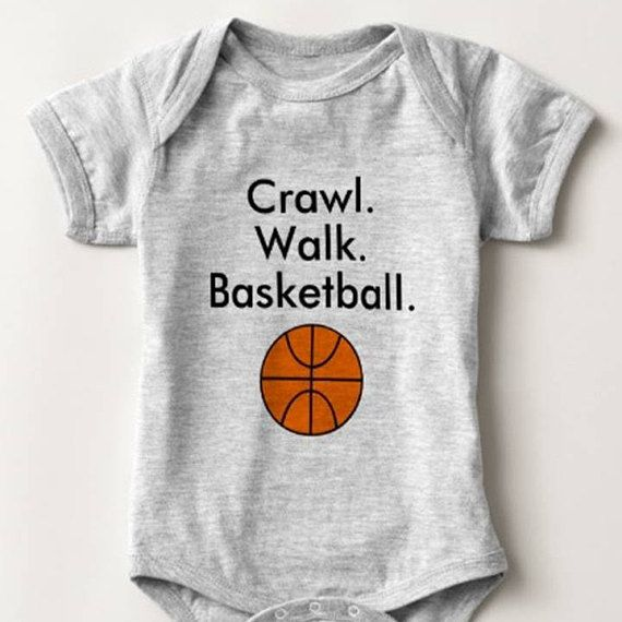 Born to Play Basketball Baby Vest One Piece Babygrow Baby Shower Gifts Sport