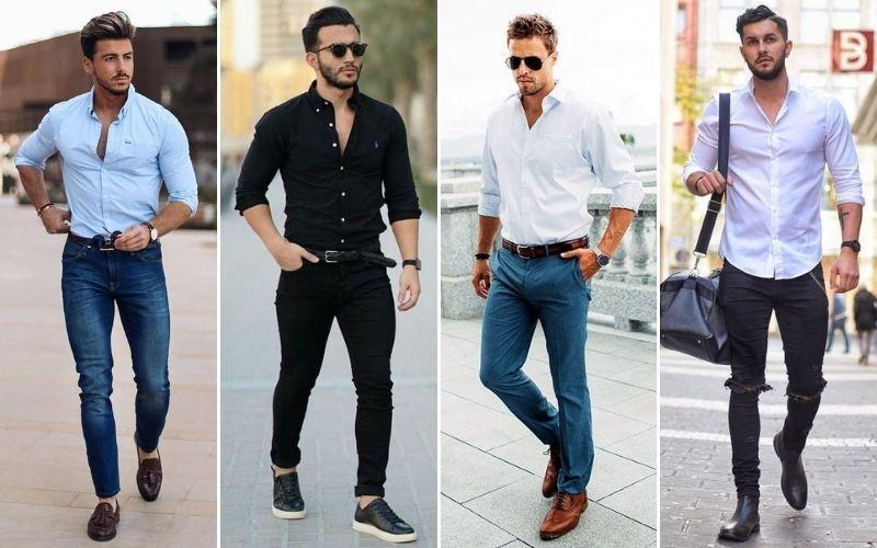 Men smart casual attire Smart Casual