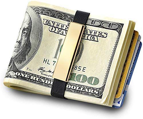 Photo of Buy GRAND BAND Money Band, 22kt Gold Overlay, MONEY/CARD HOLDER, Minimalist Wallet online – Showmetopstyle