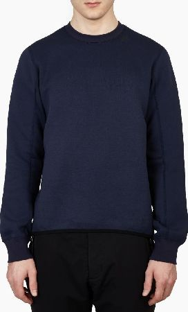 Label Nike White Sweatshirt Tf Navy The 1mm OF8ZFxw