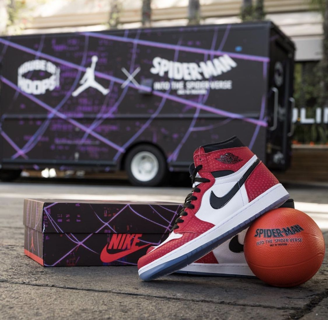 "8a3d538a Air Jordan 1 ""Origin Story"" Spider man Into The Spider-Verse collab ..."