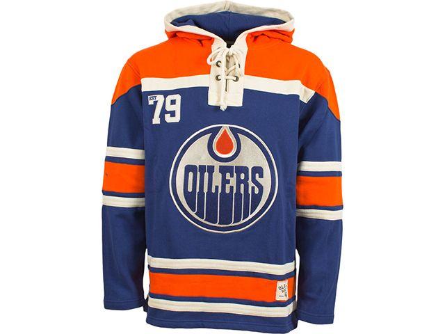 TSN - Edmonton Oilers Old Time Hockey Home Lace Hoody