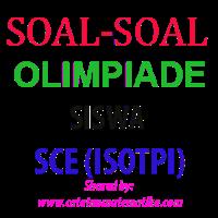 Soal Olimpiade Siswa Sce Iostpi Matematika