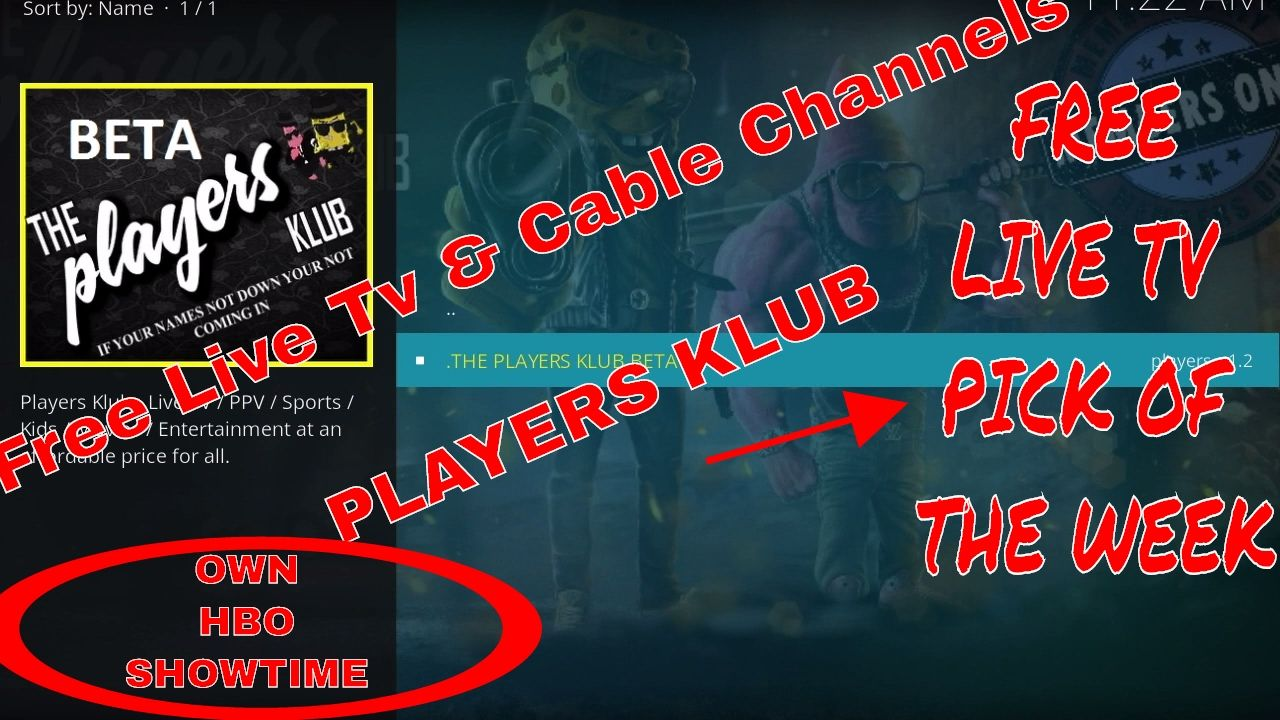 Watch Free Live & Cable Channels on Players Klub! OWN-Showtime-HBO and S...
