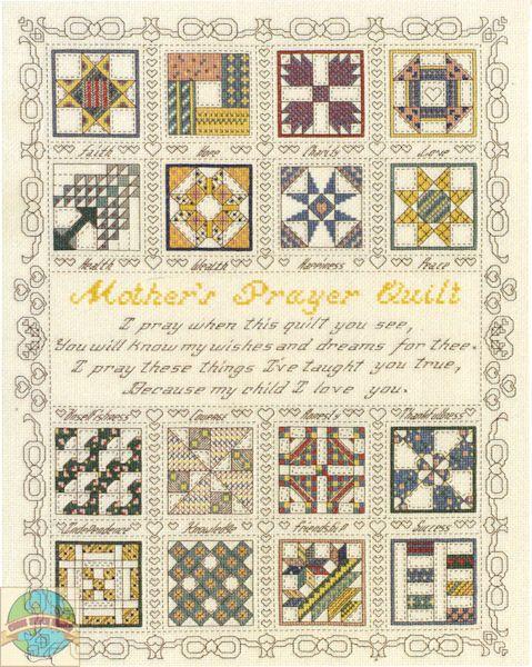 Janlynn - A Mother's Prayer - Cross Stitch World