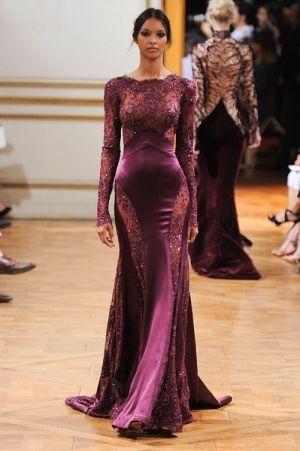 فساتين خريف شتاء 2013 2014 زهير مراد مصمم أزياء Couture Fashion Evening Dresses Fancy Dresses