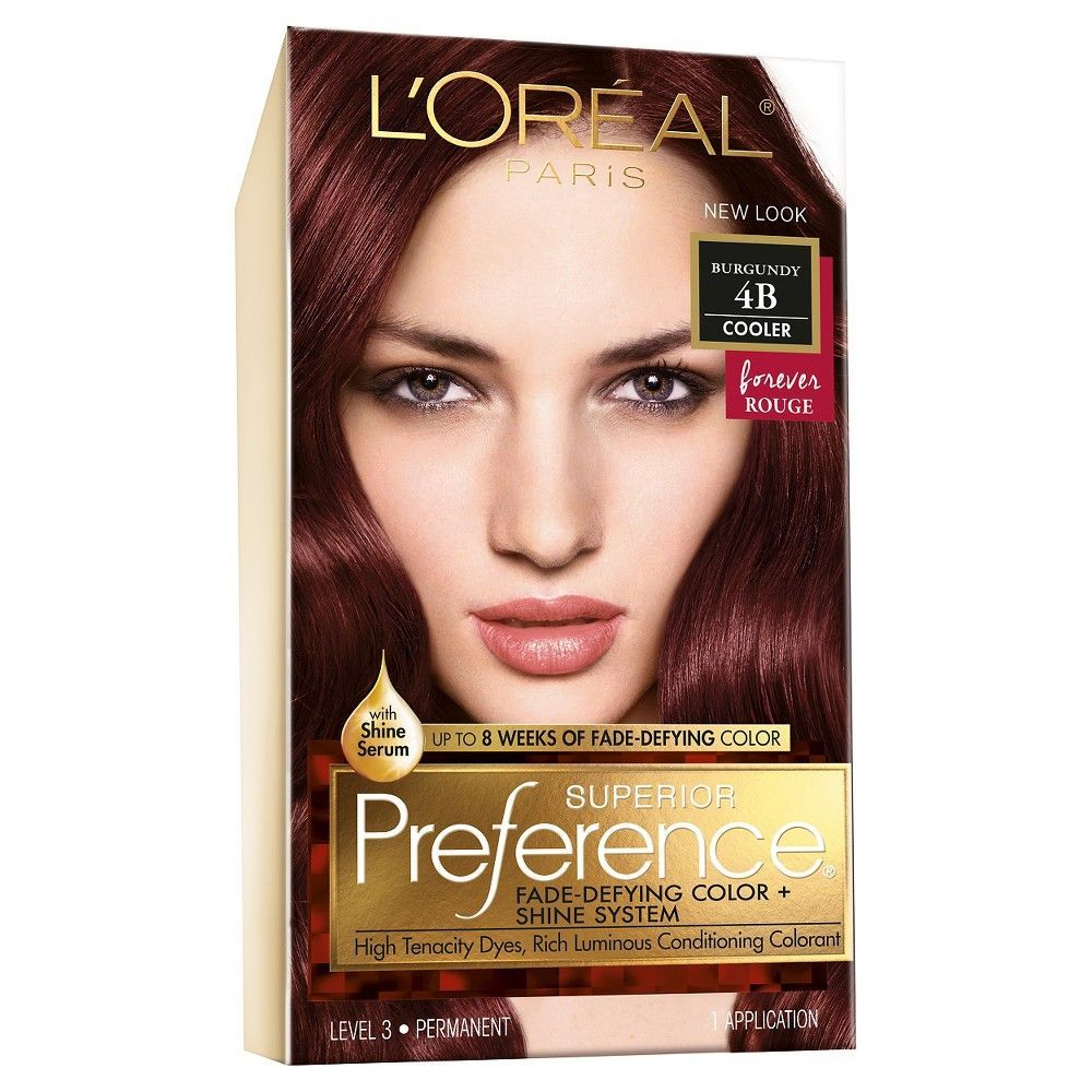 Loreal Paris Superior Preference Burgundy 4b Products