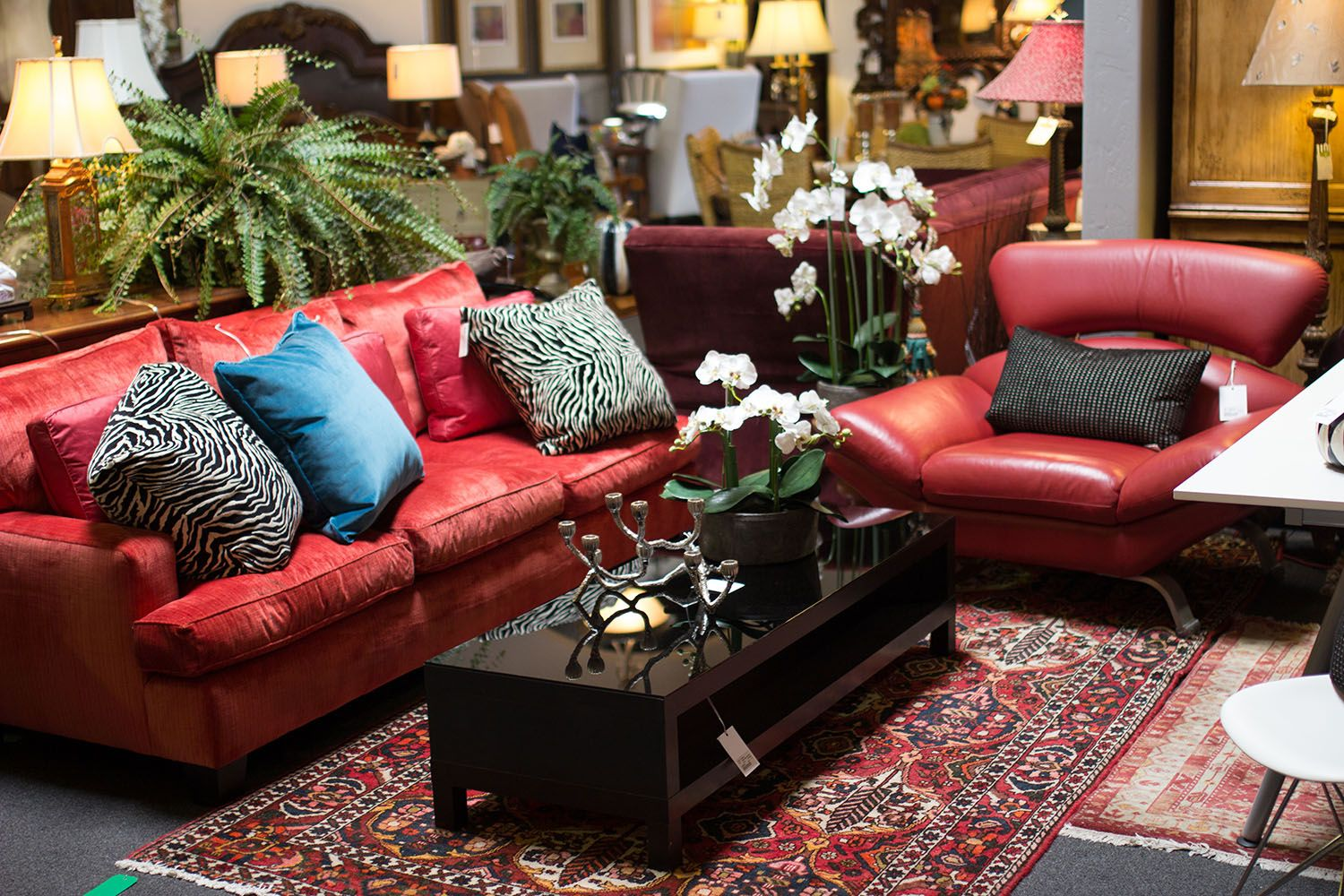leather sofas scottsdale az l shaped garden sofa covers red couches for the modern home found at avery