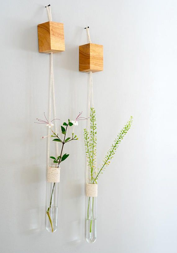 Hanging vases glass wall vase set of 2 wall tube vases a pair of hanging vases glass wall vase set of 2 wall tube vases a pair of hanging vase glass hanging vases wall hanging vases mothers day gift tube en verre negle Image collections