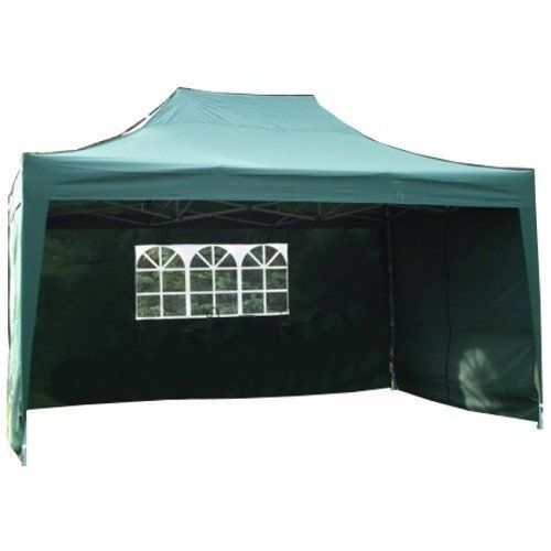 Pop Up Gazebo 4.5x3M Fully Waterproof 4 Side Panels Garden