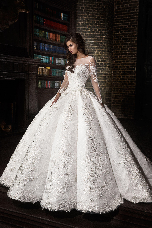 619dc41de97 Luxury Wedding Dress