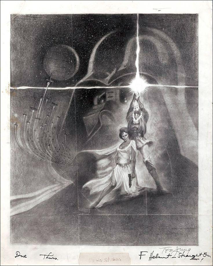 Tom Jung's original sketch.