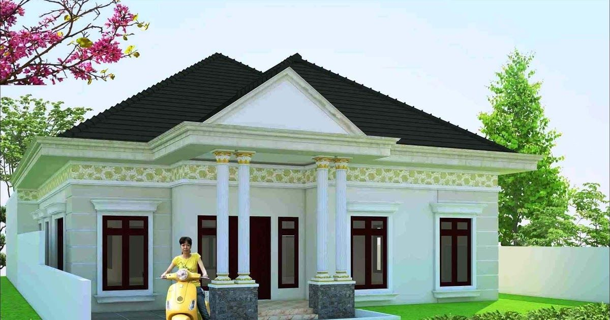 Desain Rumah Gaya Eropa Minimalis Cek Bahan Bangunan