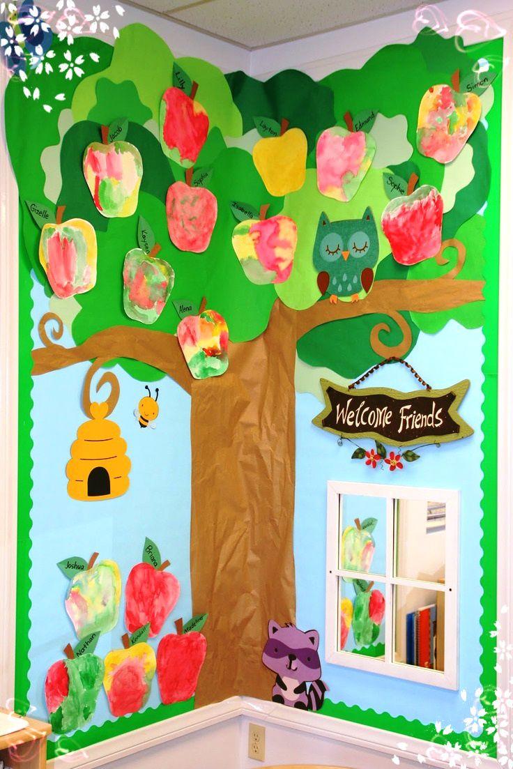 ideas salones de clases - Buscar con Google | mural decoration for ...