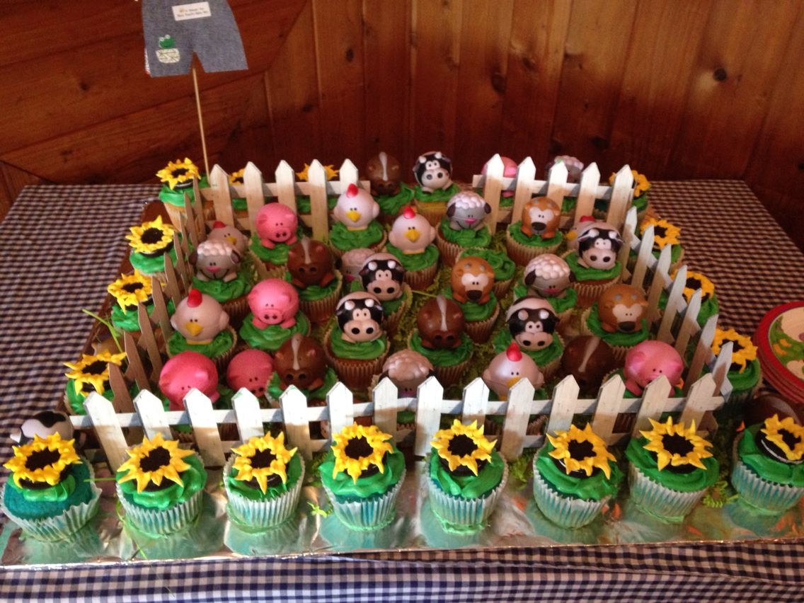 Good Farm Baby Shower Cupcakes More